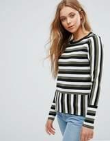 Vero Moda Contrasting Stripe Top