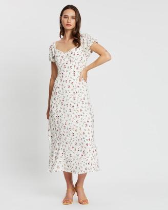 Atmos & Here Cara Floral Midi Dress