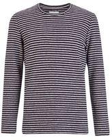 Burton Burton Nowadays Black Reverse Striped Sweatshirt*