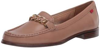 Marc Joseph New York Womens Leather Chain Detail Park Ave South Loafer