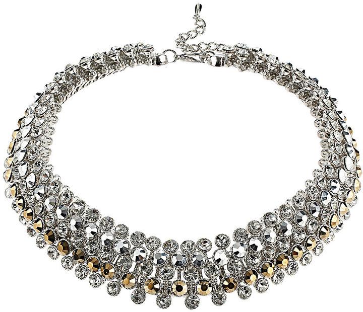 Topshop Premium Rhinestone Collar