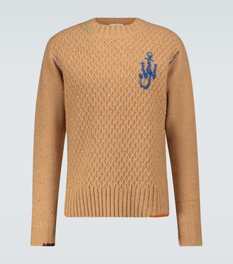 J.W.Anderson Darning crewneck sweater