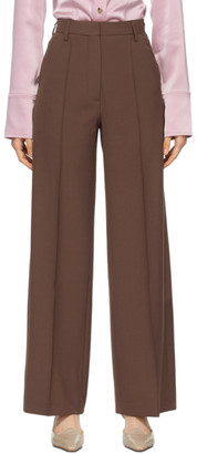 Nanushka Brown Cleo Trousers