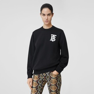 Burberry Monogram Motif Cotton Sweatshirt