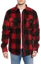 Rip Curl Men's El Cap Water Resistant Flannel Shirt Jacket