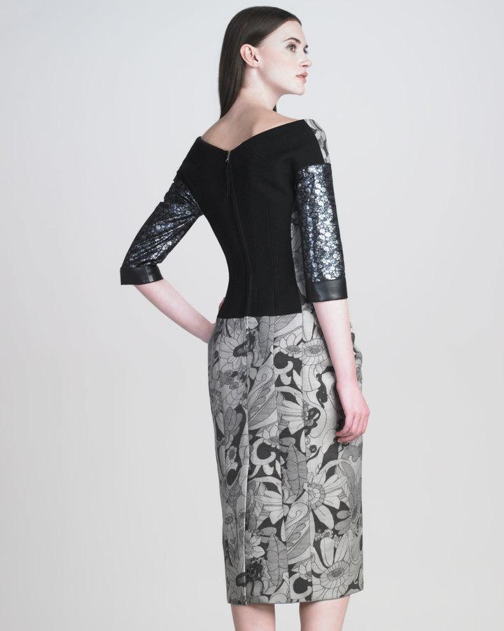 Marc Jacobs Cartoon-Flower Printed Dress