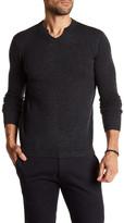 Autumn Cashmere Modified Split Neck Cashmere Sweater