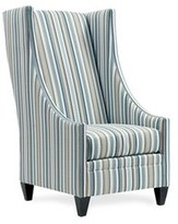 Pool' Saige Wingback Chair Uniquely Furnished Body Fabric: Swanky Pool