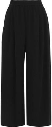 Tome Gathered Crepe Wide-leg Pants