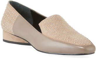 Donald J Pliner Iline Micro Stud Loafers