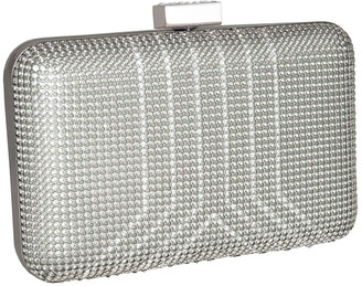 Whiting & Davis Yves Crystal Minaudiere Clutch Bag
