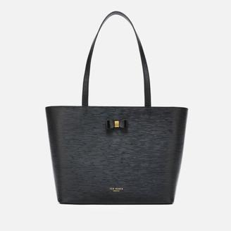 Ted Baker Women's Deannah Bow Detail Shopper Bag - Black