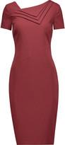 Raoul Spiga pleated cotton-blend dress