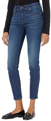 Madewell 8 Skinny Skinny Jeans in Dark Indigo (Greendale Wash) Women's Jeans