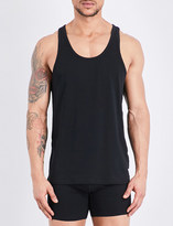 Calvin Klein Pack of two stretch-cotton tank tops