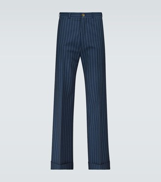 Gucci Exclusive to Mytheresa - chalk striped pants