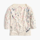 J.Crew Girls' splatter paint T-shirt