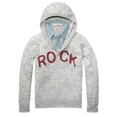 Scotch & Soda Scotch and Soda Kids - Boy's Hooded Sweater - Grey