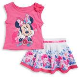 Nannette Girls 2-6x Two-Piece Top & Skirt Set