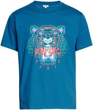 Kenzo Festive Tigre tiger t-shirt