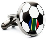 South Africa Soccer Flag Cufflinks