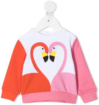 Stella McCartney Kids Flamingo-Print Sweatshirt
