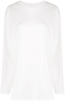The Row Autie long-sleeved cotton T-shirt