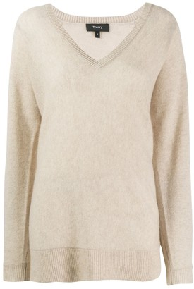 Theory knitted cashmere jumper