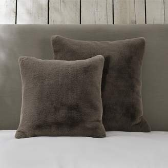The White Company Supersoft Faux Fur Cushion Cover