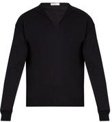 Boglioli Long-sleeved cotton blend sweater