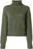 Chloé chunky turtleneck sweater - women - Cashmere - S