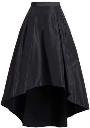 Teri Jon By Rickie Freeman High-Low A-Line Skirt