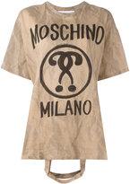 Moschino bag handle T-shirt - women - Cotton - XXS