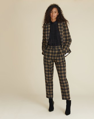 Veronica Beard Reena Plaid Pant