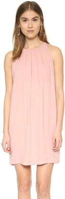 BCBGMAXAZRIA Azria Women's Lynzie Sleeveless Pleated Shift Dress