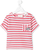Une Fille - striped top - kids - Cotton - 12 yrs