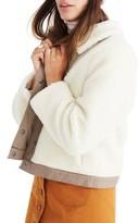 Madewell Women's Portland Faux Shearling Jacket