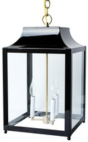 The Well Appointed House Traditional Hanging Painted Ceiling Lantern -Available in Many Colors