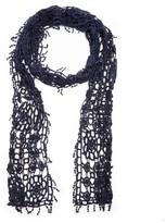 Sole Society Crochet Skinny Scarf