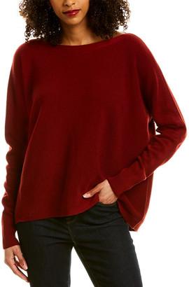 Lafayette 148 New York Oversized Wool Sweater