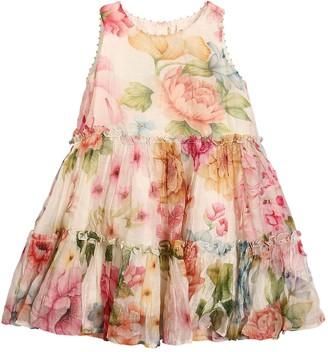 Péro Flower Print Cotton Muslin Dress