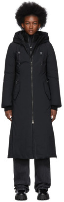 Mackage SSENSE Exclusive Black Down Rebeka Coat