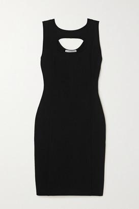Givenchy Cutout Stretch-crepe Dress - Black