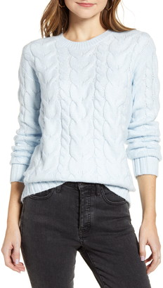 Rachel Parcell Cable Knit Sweater