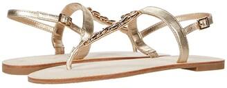 Lilly Pulitzer Largo Sandal (Gold Metallic) Women's Shoes