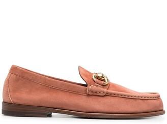 Henderson Baracco Horsebit Almond-Toe Loafers
