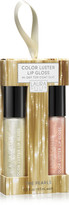 Laura Geller Color Luster Lip Gloss Hi-Def Top Coat Duo - The Pearls