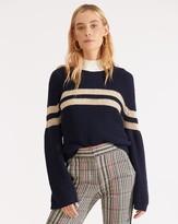 Veronica Beard Georgiana Crew-Neck Sweater