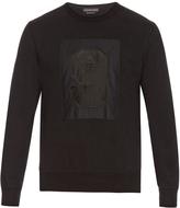 Alexander McQueen No.9 appliqué crew-neck sweatshirt