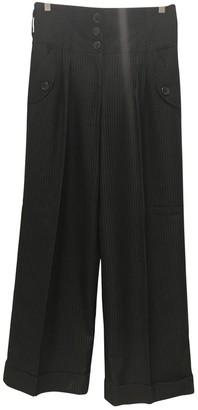 Shyde \N Black Trousers for Women